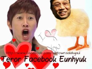 teror facebook eunhyuk