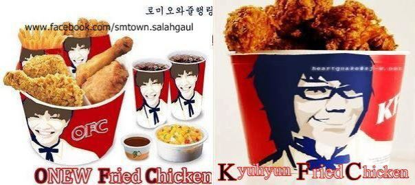 onew-fried-checken-kyuhyun-fried-chicken
