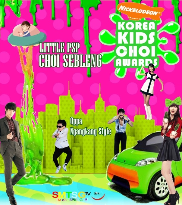 Poster Korea Kids Choi Awards