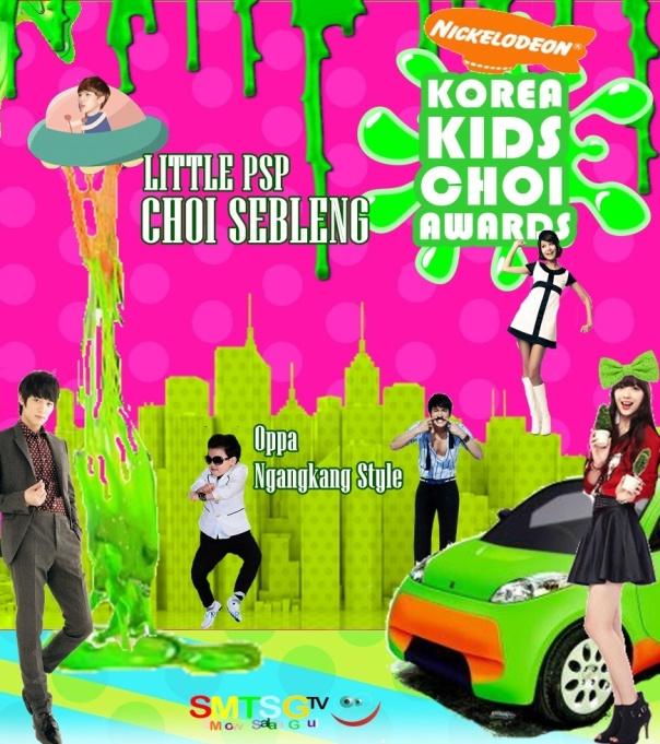Poster Korea Kids Choi Awards