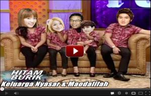HITAM BURIK Keluarga Nyasar & Maodalifah SMTSG TV