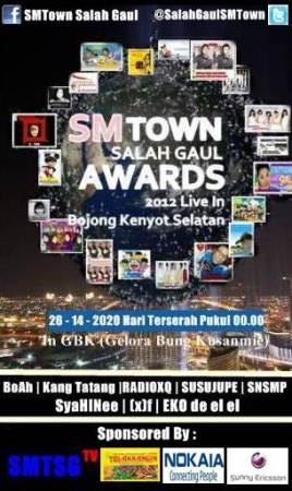 SMTown Salah Gaul Awards SMTSGTV (2)
