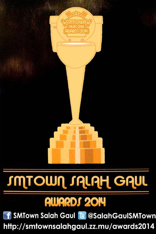 Poster SMTown Salah Gaul Awards 2014