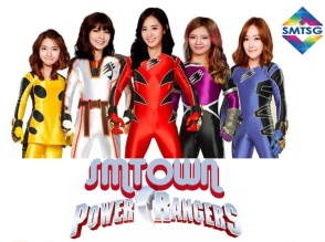 SMTown Power Ranger