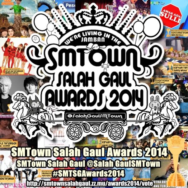 SMTown Salah Gaul Awards 2014