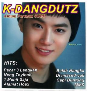 K-Dangdutz Album Suho