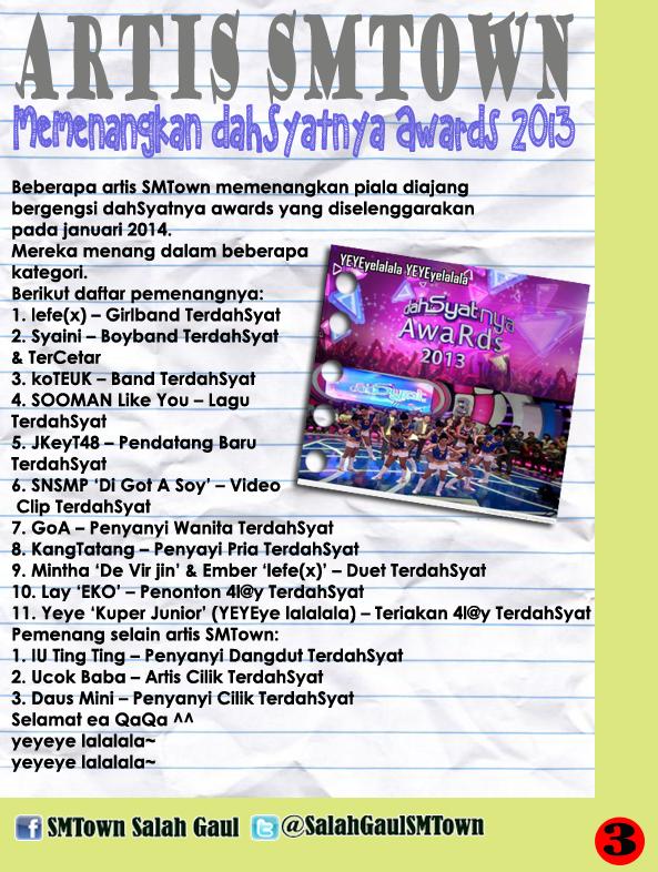 Majalah SMTown Salah Gaul Edisi 3 (3)