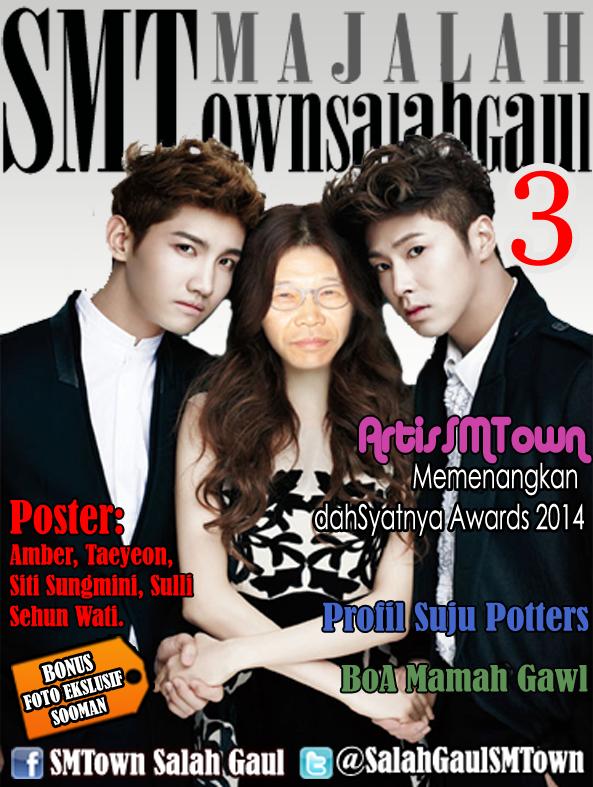 Majalah SMTown Salah Gaul Edisi 3