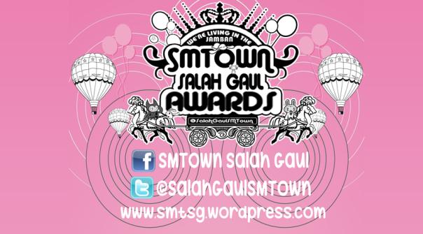 SMTown Salah gaul Awards