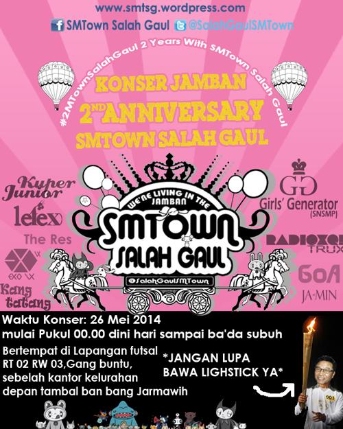 Poster Konser Jamban SMTown Salah Gaul