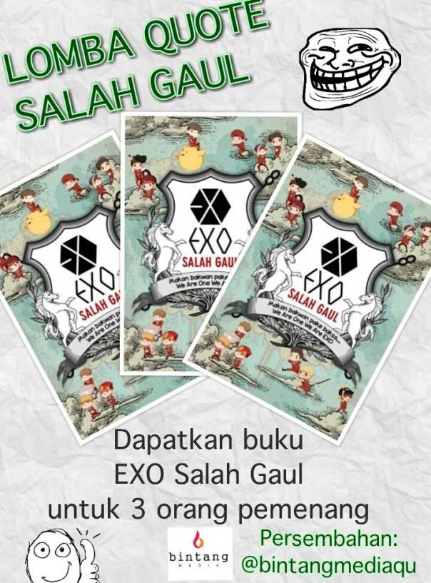Event EXO Salah Gaul Book #LombaQuoteSG (1)