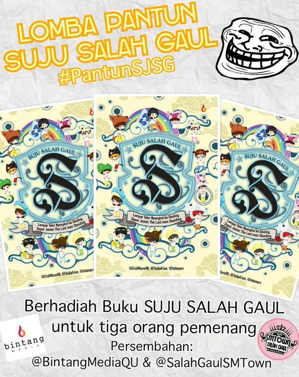 Event SUJU Salah Gaul Book #PantunSJSG (1)