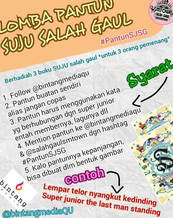 Event SUJU Salah Gaul Book #PantunSJSG (2)