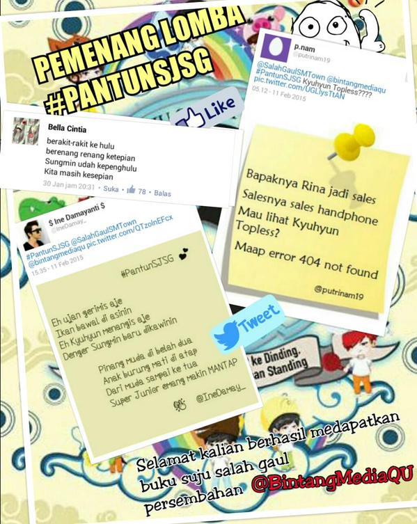 Event SUJU Salah Gaul Book #PantunSJSG (3)