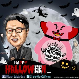 Logo SMTown Salah Gaul Halloween